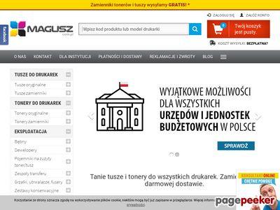 Tonery - Magusz.com.pl