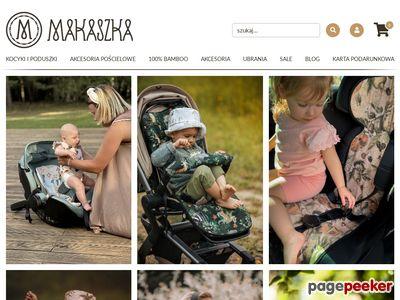 Kocyki Minky, Pieluszki Bambusowe - Makaszka