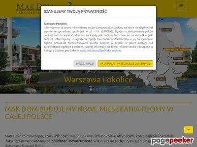 Nowe mieszkania Warszawa www.makdom.pl