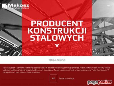 Konstrukcje stalowe - MAKOSZ