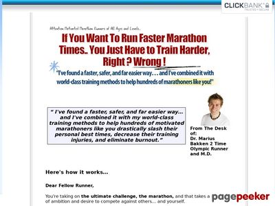 Marathon Training Plan – 100 Day Program – Olympian Marius Bakken's Marathon Schedule