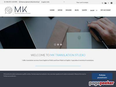 Tłumaczenia techniczne, biznesowe - język angielski