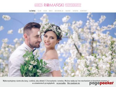 Marcinromanski.com zdjęcia ślubne