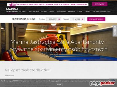 Marina Jastrzębia Góra - Mieszkania