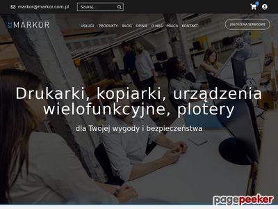 MARKOR drukarki wielofunkcyjne Gdynia