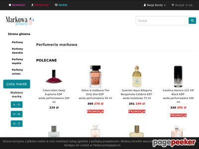 Perfumerie internetowe w Łodzi - duży wybór perfum