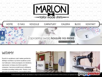 Salon Marlon - modna koszula męska