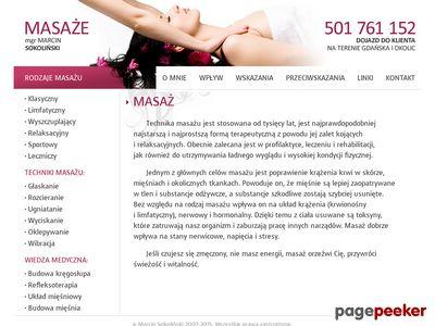 Profesionalny masaż leczniczy - Trójmiasto