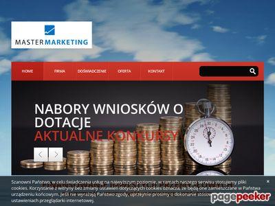 Dotacje i kredyty na finansowanie inwestycji z Master Marketing