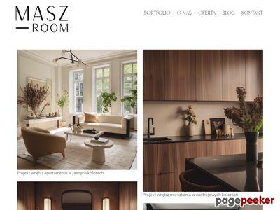 Projektowanie wnętrz - Maszroom.com