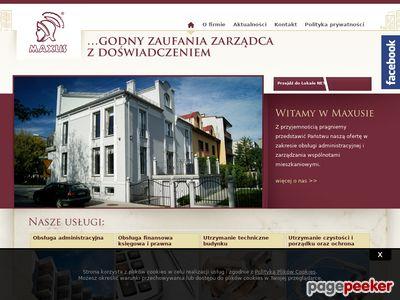 Maxus | Administrowanie nieruchomościami Kraków