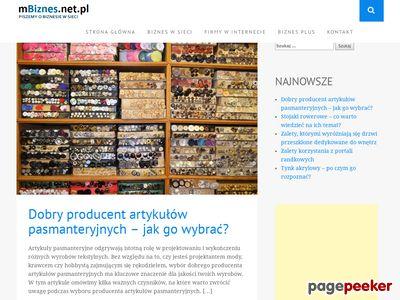 Www.mbiznes.net.pl