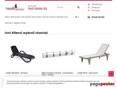 Internetowy sklep meblowy - www.meble-bocian.pl