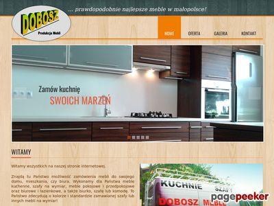 Meble kuchenne na wymiar Nowy Sącz: meble-dobosz.pl