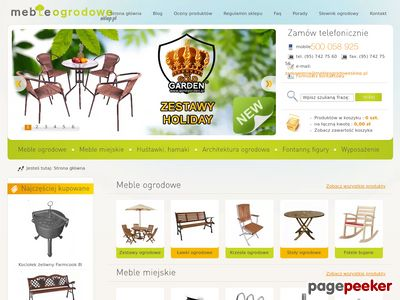 Meble-ogrodowe-sklep.pl : Zapraszamy na PROMOCJE mebli ogrodowych 2011!