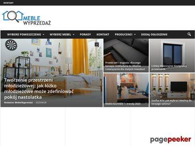 Meble promocje - www.meble-wyprzedaz.pl