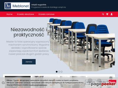 Krzesła biurowe. MEBLO.net