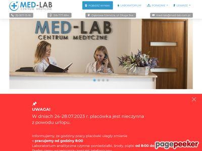 Med-Lab.com.pl - laboratoria oraz poradnie