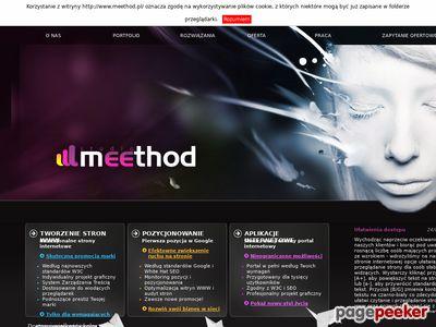 Meethod - Tworzenie stron www.