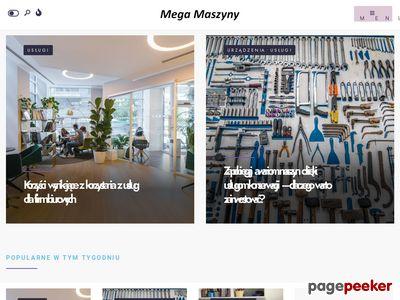 Maszyny szwalnicze Mega-maszyny.pl