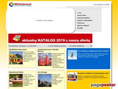 Www.megazabawa.pl – wynajem domków dmuchanych