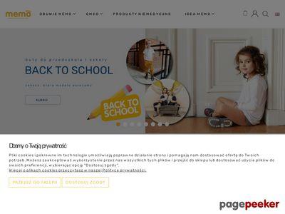 Sklep z butami www.memoinfo.pl