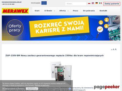 MERAWEX - producent zasilaczy impulsowych i systemów zasilania gwarantowanego Gliwice
