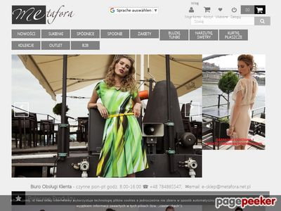 METAFORA modne sukienki sklep internetowy