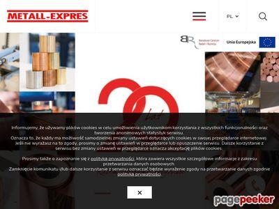 Profile aluminiowe - www.metallexpres.pl