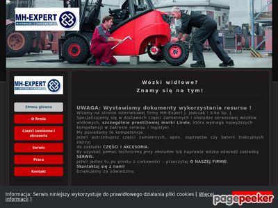 MH-Expert.pl - części Linde
