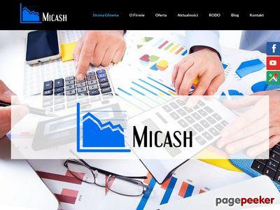 "Biuro Rachunkowe ""MICASH"" Mirosław Tłomak, Biuro Rachunkowe Wadowice"