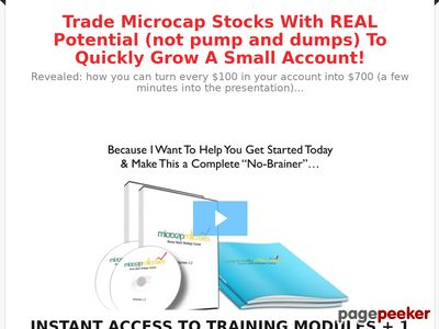 Special Penny Stock Course Offer – MicroCap Millionaires