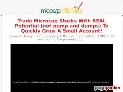 Summer Discount Offer - MicroCap Millionaires
