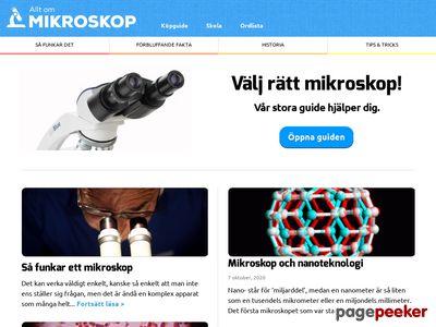 Allt om Mikroskop - http://www.mikroskop.se