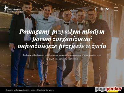 Mistrzowie Ceremonii: Twój wodzirej i dj na wesele / Lublin