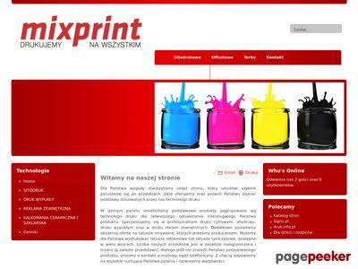 Mixprint.com.pl - tatuaże reklamowe