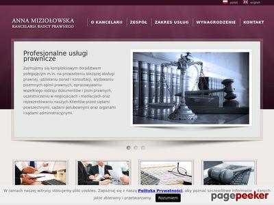 Kancelaria Radcy Prawnego Anna Miziołowska