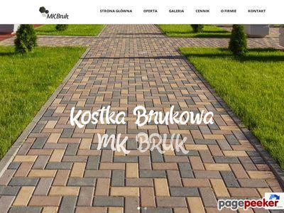 Kostka brukowa Kraków - mk-bruk.pl