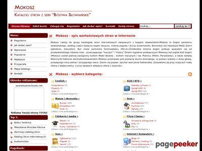 Mokosz - dodaj swoją stronę