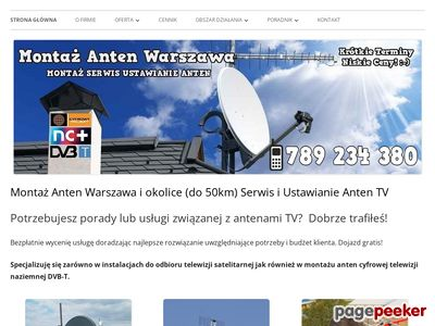Anteny Satelitarne i Naziemne Warszawa