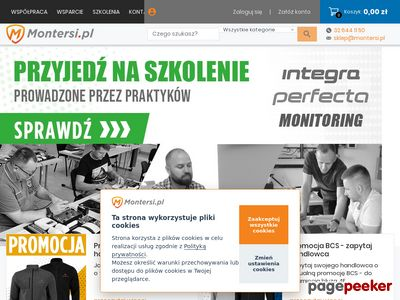 Telewizja przemysłowa - www.montersi.pl