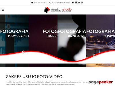 Motion-Studio fotografia biznesowa i wizerunkowa