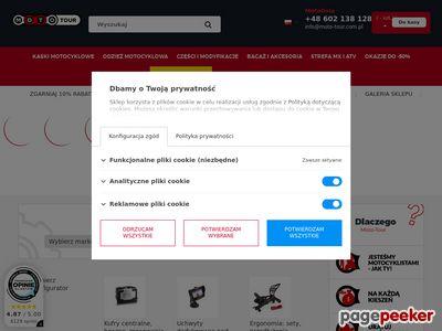 Internetowy sklep motocyklowy Moto-tour.com.pl