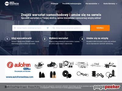 Internetowy sklep motoryzacyjny