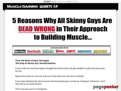Muscle Gaining Secrets -