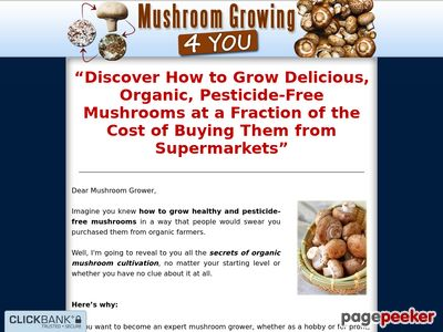 Mushroom Growing 4 You – Step-By-Step How To Grow your Very Own Mushrooms at Home