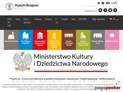 Muzeum.torun.pl Muzeum Okręgowe w Toruniu