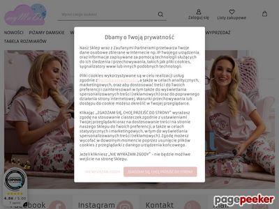 MyMaDo.pl - damskie piżamy bawełniane