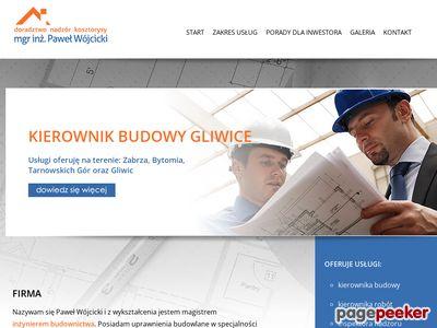 Kierownik Budowy, Bytom, Gliwice, Zabrze, Tarnowskie Góry