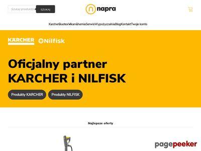 Napra sprzedaż i serwis urządzeń Karcher i Nilfisk